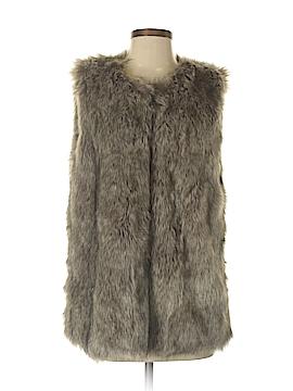 Jade Faux Fur Vest Size M