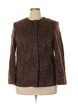 Valerie Stevens Wool Coat Size 16W