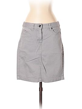 Dalia Collection Denim Skirt Size 4