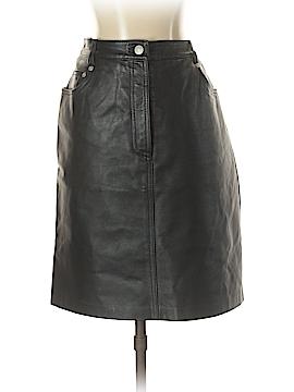 Jeanology Leather Skirt Size 10