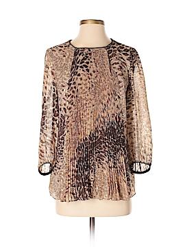 Tibi 3/4 Sleeve Silk Top Size 8